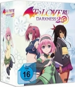 To Love Ru Darkness 2nd - Vol.4/4: Limited Edition [Blu-ray] + Sammelschuber + Dakimakura Kissenbezug