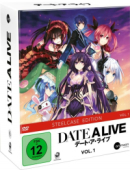 Date a Live - Vol. 1/3: Limited Steelcase Edition + Sammelschuber