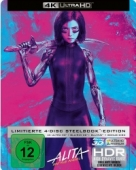 Alita: Battle Angel - Limited Steelbook Collector's Edition [Blu-ray 4K+3D]