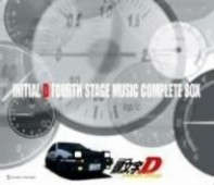 Initial D Fourth Stage - Music Complete Box