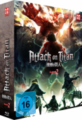Attack on Titan: Season 2 - Vol. 1/2: Limited Edition [Blu-ray] + Sammelschuber