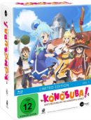 KonoSuba: God's blessing on this wonderful world! - Vol.1/3: Limited Mediabook Edition [Blu-ray] + Sammelschuber