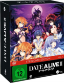 Date a Live II - Vol.1/3: Limited Steelcase Edition + Sammelschuber