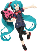 Vocaloid - Actionfigur: Hatsune Miku (Taito Station Uniform)
