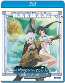 Is it Wrong to Try to Pick Up Girls in a Dungeon?: Season 1 - Complete Series [Blu-ray]