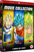 Dragon Ball: Movie Collection - Battle of Gods + Resurrection F + Broly