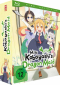 Miss Kobayashi's Dragon Maid - Vol.1/3: Limited Edition [Blu-ray] + Sammelschuber