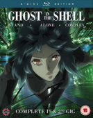 Ghost in the Shell: Stand Alone Complex + 2nd GIG - Complete Series [Blu-ray]
