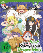 Miss Kobayashi's Dragon Maid - Vol.2/3 [Blu-ray]