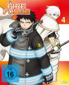 Fire Force - Vol.4/4 [Blu-ray]