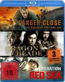 Danger Close / Dragon Blade / Operation Red Sea [Blu-ray]