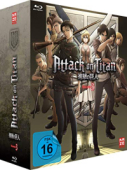Attack on Titan: Staffel 3 - Vol.1/4: Limited Edition [Blu-ray] + Sammelschuber