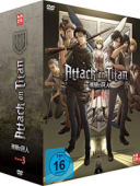 Attack on Titan: Staffel 3 - Vol.1/4: Limited Edition + Sammelschuber