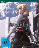 Attack on Titan: Staffel 3 - Vol.2/4 [Blu-ray]