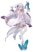 Re:ZERO - Starting Life in Another World - Figur: Emilia & Puck