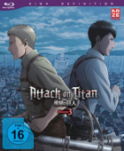 Attack on Titan: Staffel 3 - Vol.3/4 [Blu-ray]