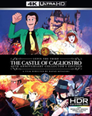 Lupin the Third: The Castle of Cagliostro - 40th Anniversary Collector's Edition [Blu-ray 4K]