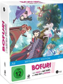 Bofuri: I Don't Want to Get Hurt, so I'll Max Out My Defense. - Vol. 1/3: Limited Mediabook Edition [Blu-ray] + Sammelschuber