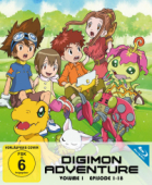 Digimon Adventure - Vol. 1/3: Digipack [Blu-ray]