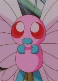 Charakter: Pink Butterfree