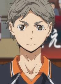 Koushi SUGAWARA ist ein Charakter aus dem Anime »Haikyuu!!« und aus dem Manga »Haikyuu!!«.