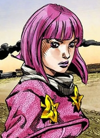 Hot Pants ist ein Charakter aus dem Manga »Jojo no Kimyou na Bouken: Steel Ball Run«.