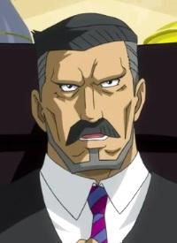 Toyoji UCHIHATA ist ein Charakter aus dem Anime »Concrete Revolutio: Choujin Gensou«.
