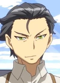 Yoshiaki SATOMI ist ein Charakter aus dem Anime »Concrete Revolutio: Choujin Gensou«.