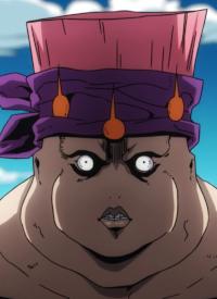 Carne ist ein Charakter aus dem Anime »JoJo no Kimyou na Bouken: Ougon no Kaze« und aus dem Manga »JoJo no Kimyou na Bouken«.