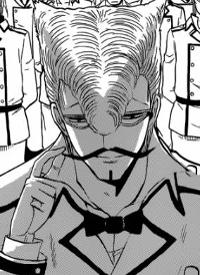 SAMESHIMA ist ein Charakter aus dem Manga »Beelzebub«.