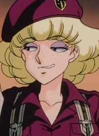 Aileen SANDERS ist ein Charakter aus dem Anime »Suna no Bara: Yuki no Mokushiroku«.