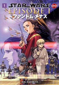 Manga: Star Wars Episode I: The Phantom Menace