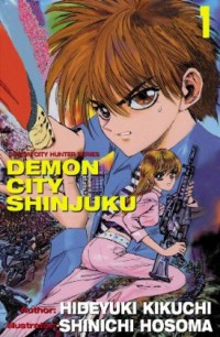 Manga: Demon City Shinjuku