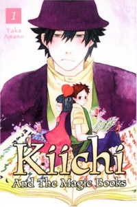 Manga: Kiichi and the Magic Books