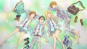 "News: ""Shigatsu wa Kimi no Uso: Sekunden in Moll""-Review: Blu-ray Volume 4"
