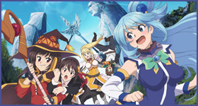 "News: Gewinnspiel – 2 × 2 Kinokarten für ""KonoSuba – The Movie"" – Update"