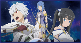 "News: Gewinnspiel – Virtuelles Kinoevent ""DanMachi: Arrow of the Orion"" – UPDATE"
