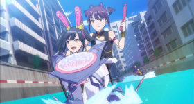 "News: ""Kandagawa Jet Girls""-Review: Blu-ray von peppermint anime"
